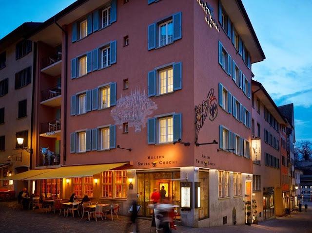 Swiss Chuchi em Zurique