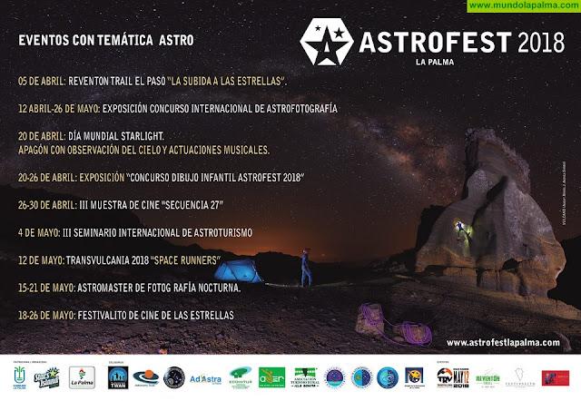 Astrofest mantiene viva en La Palma la defensa del cielo nocturno y el derecho a observar las estrellas