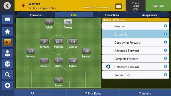Football Manager Mobile 2017 v8.0 Mod Apk Data + Terbaru