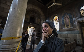 église copte au Caire