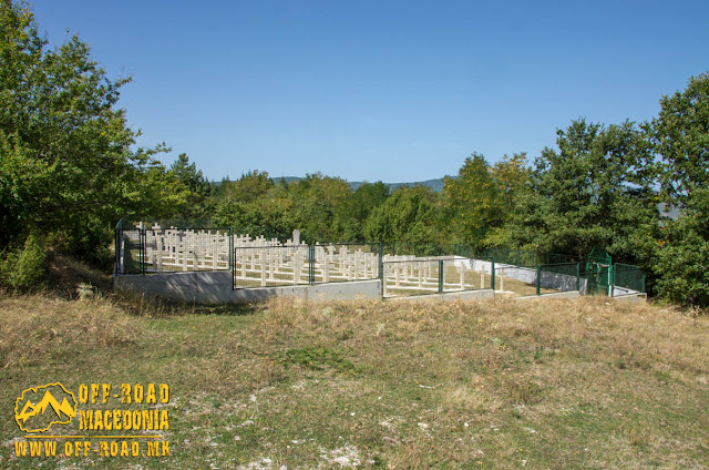 Bulgarian military WW1 cemetery in Capari village, Municipality of Bitola