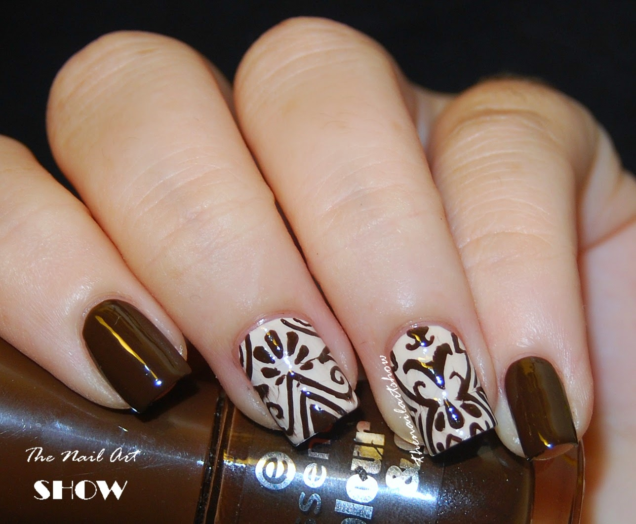 August Nail Art: The Nail Art Show: August 2014