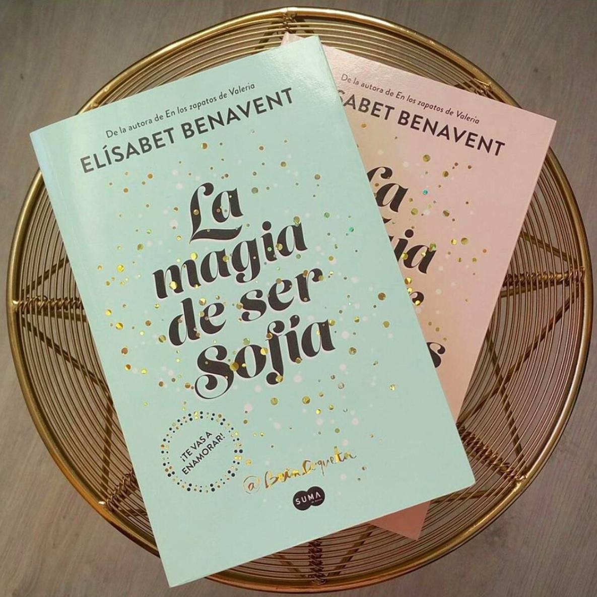 """Libro: """"La magia de ser Sofía"""" y """"La magia de ser nosotros"""" de Betacoqueta.  No puedo escoger sólo uno porque uno es la continuación del otro."""