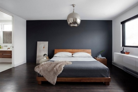 10 fotos de dormitorios color gris modernos dormitorios for Dormitorios pintados de gris