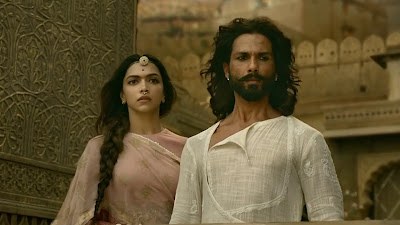 Deepika Padukone And Shahid Kapoor HD Wallpaper Of Padmavati