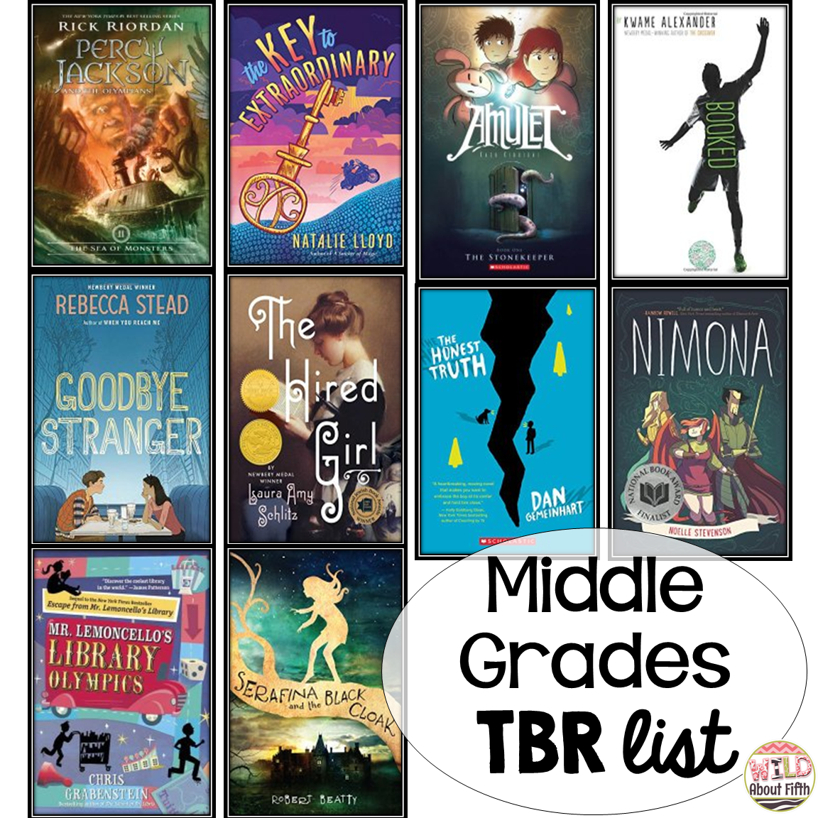 Book Recommendations For Middle Grade Students