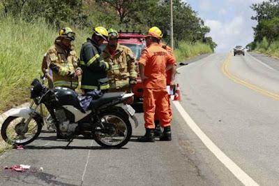 Grávida e bebê morrem em acidente de moto próximo a São Sebastião