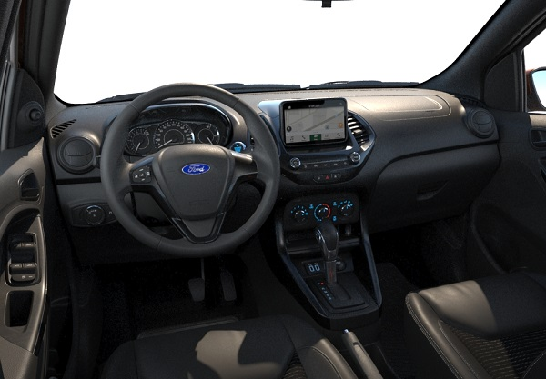 Interior nuevo Ford Ka 2019 Argentina