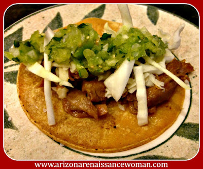 Pulled Lamb Shank Tacos with Pineapple-Tomatillo Salsa
