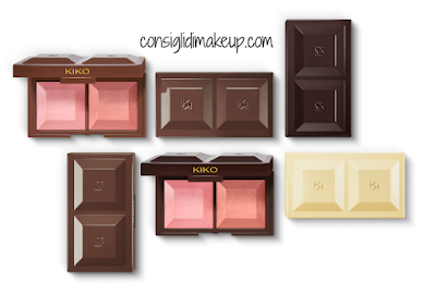 Blush Cocoa Shock Preview Anteprima fard cioccolata too faced inspired