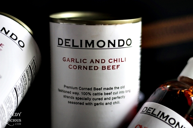 Delimondo Garlic and Chili Corned Beef Blog Review Philippines