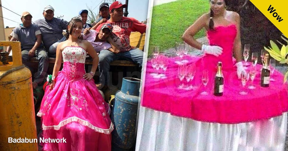 quinceañeras xv quinceaños fiesta parranda vestido familia chambelanes