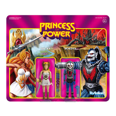 San Diego Comic-Con 2018 Exclusive Masters of the Universe She-Ra vs Hordak ReAction Action Figure 2 Pack by Super7