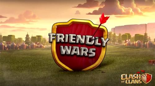 Cara Menggunakan Fitur Friendly War di Clash Of Clans