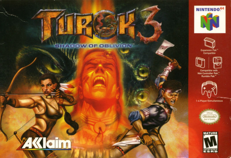 ROMs - Turok 3 - Shadow of Oblivion (Português) - N64 Download