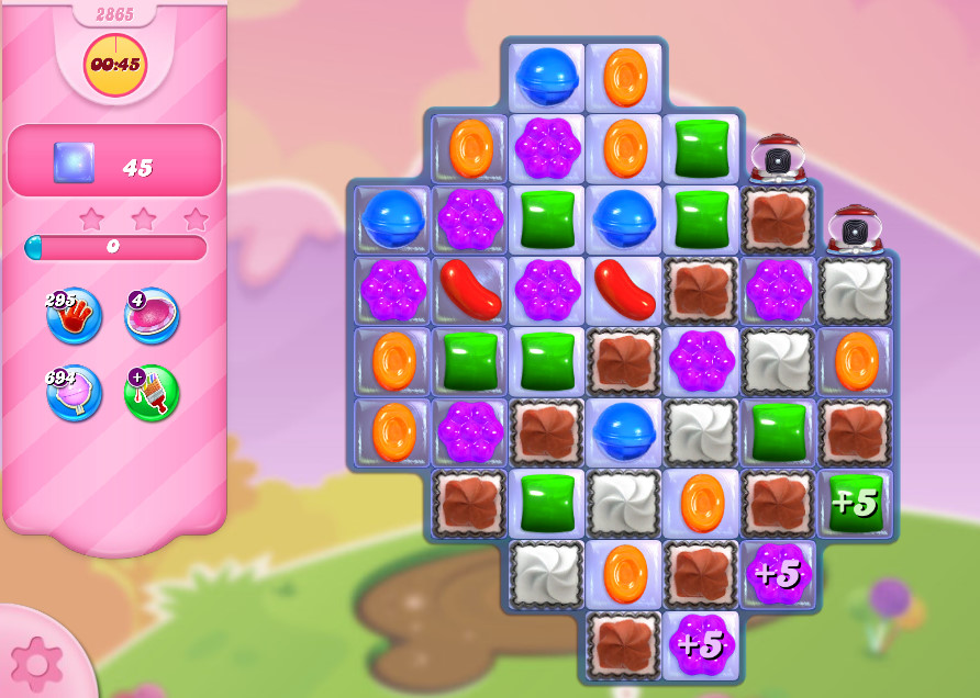 Candy Crush Saga level 2865