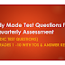 Ready Made Test Questions for First Quarterly Assessment (Periodic Test) for Grades 1 -10 with TOS & Answer Key