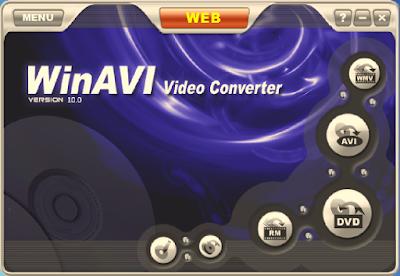 CONVERSOR DE VÍDEO WINAVI VIDEO CONVERTER 10.0