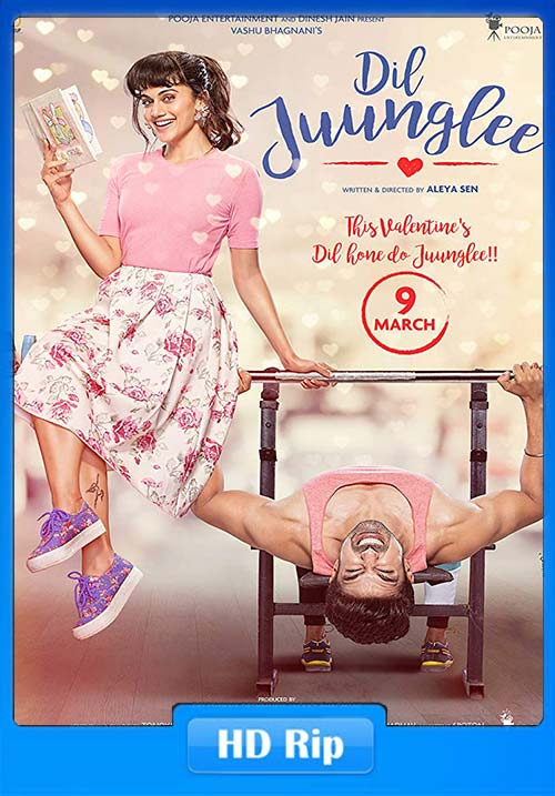Dil Juunglee 2018 Hindi 720p HDRip x264 | 408p 300MB | 100MB HEVC