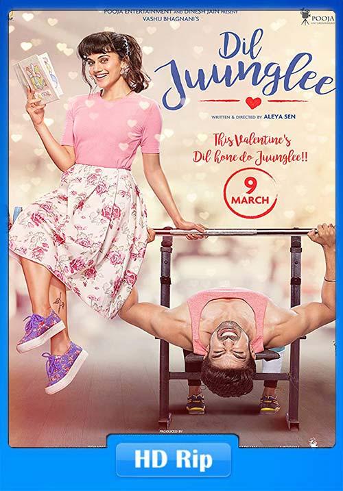 Dil Juunglee 2018 Hindi 720p HDRip x264 | 408p 300MB | 100MB HEVC Poster