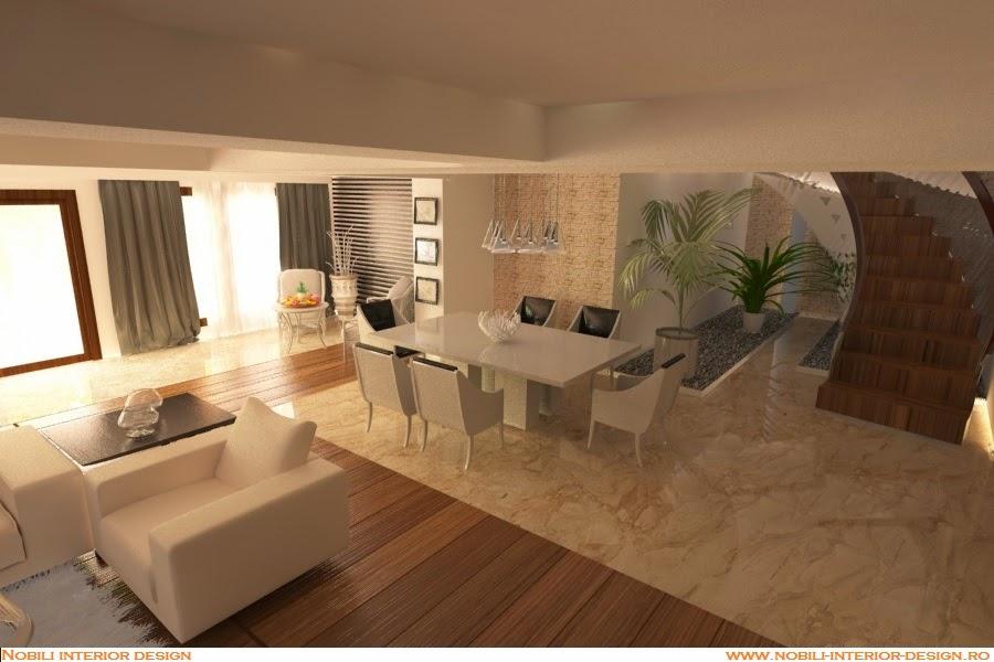 Design interior casa moderna Constanta - Mobila living Constanta.