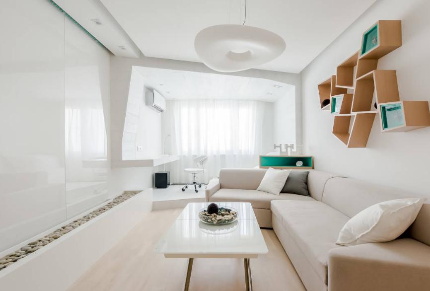 Inspirasi Mendesain Interior Ruang Tamu Minimalis Sederhana untuk ruangan kecil