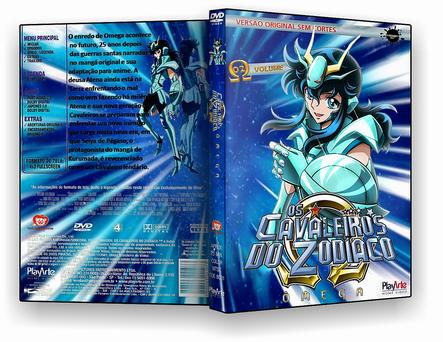 CAPA DVD – Cavaleiros Do Zodiaco Omega Disco 2 – DVD-R