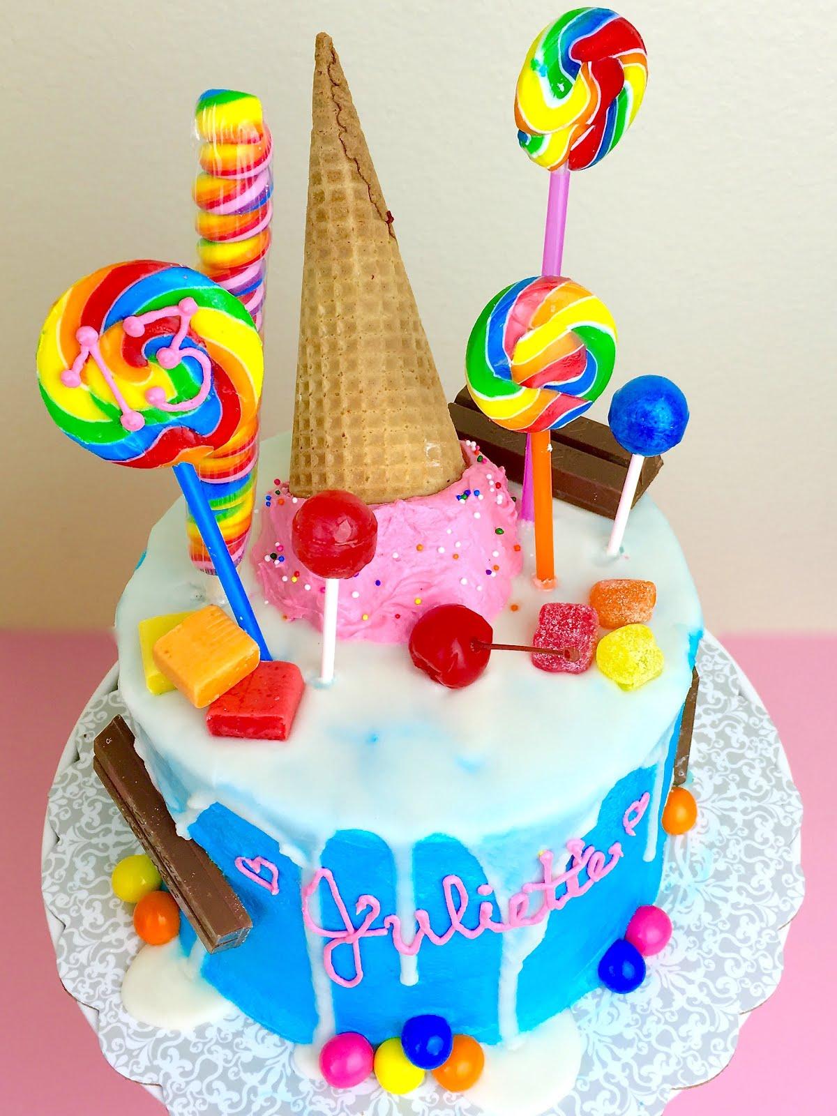 Bubblegum Ice Cream Cake
