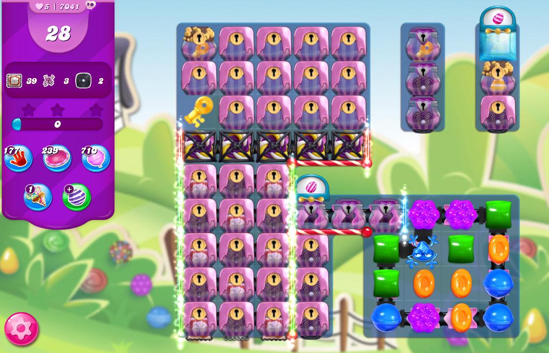 Candy Crush Saga level 7041