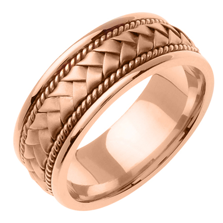 Rose Gold Wedding Rings For Men