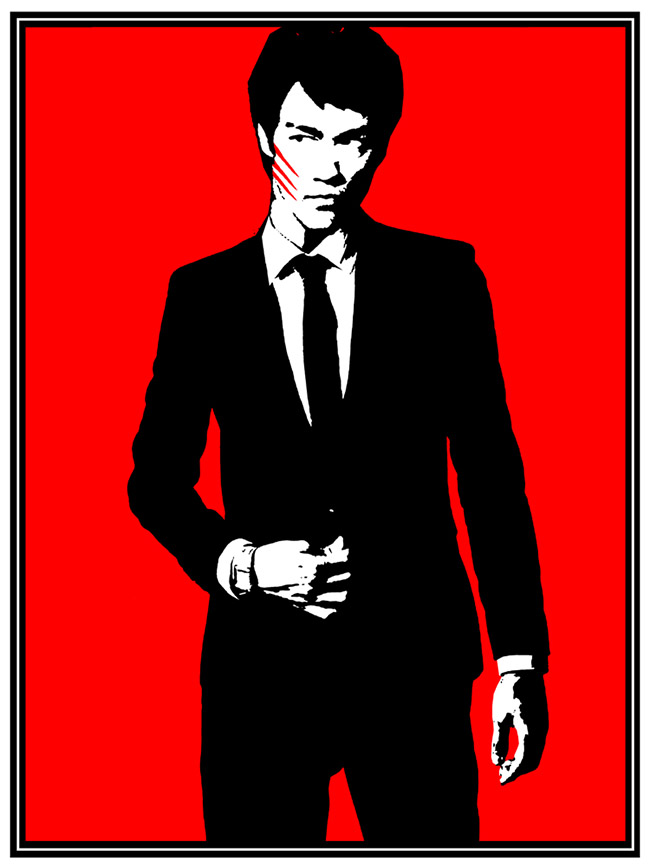 Blunt Graffix aka Matt Dye (US) - Bruce Lee art collection @ YellowMenace