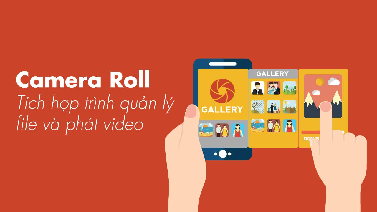 Ứng dụng quản lý hình ảnh, video cho Google Pixel và máy Android gốc