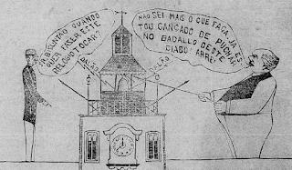O Figarino - 1895/1896 - Nicephoro Moreira - balão - onomatopeia