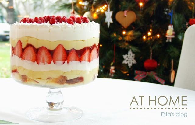 Ricetta In Inglese Traduzione.English Christmas Trifle E Altre Ricette Di Natale Inglesi At Home
