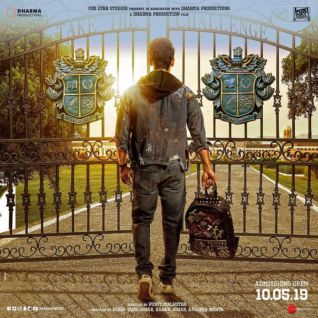 Student Of The Year 2: New posters show Tiger Shroff stepping into college