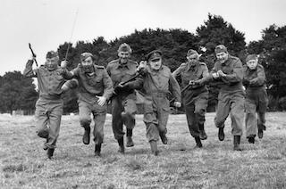 Dad's Army on the Charge