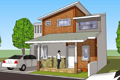 44 Model Atap Rumah Minimalis Modern Ala Perumahan Elit
