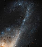 Spiral Galaxy NGC 4536