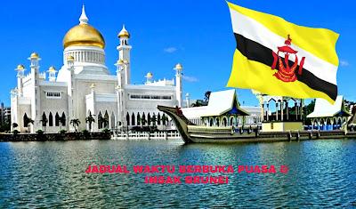 Jadual Waktu Berbuka Puasa dan Imsak 2019 Brunei