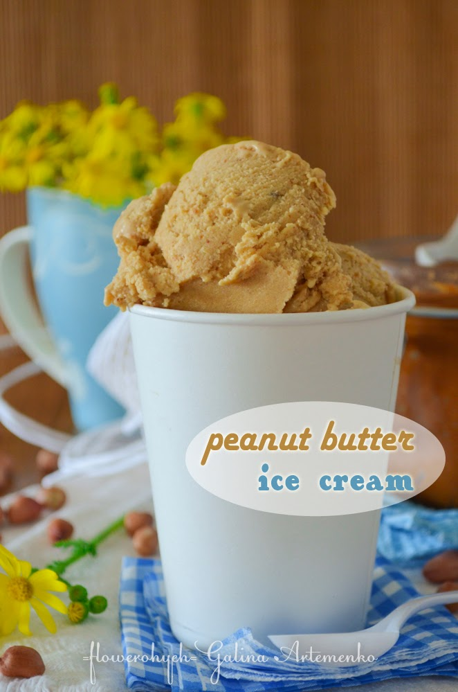 Peanut butter ice cream