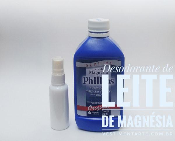 Como fazer o seu próprio Desodorante Natural e Caseiro com Leite de Magnésia