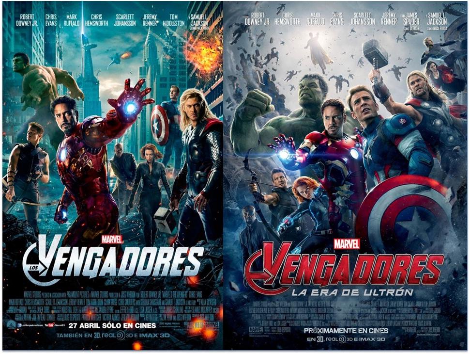 Todo X Mega Los Vengadores 1 Y 2 La Era De Ultron
