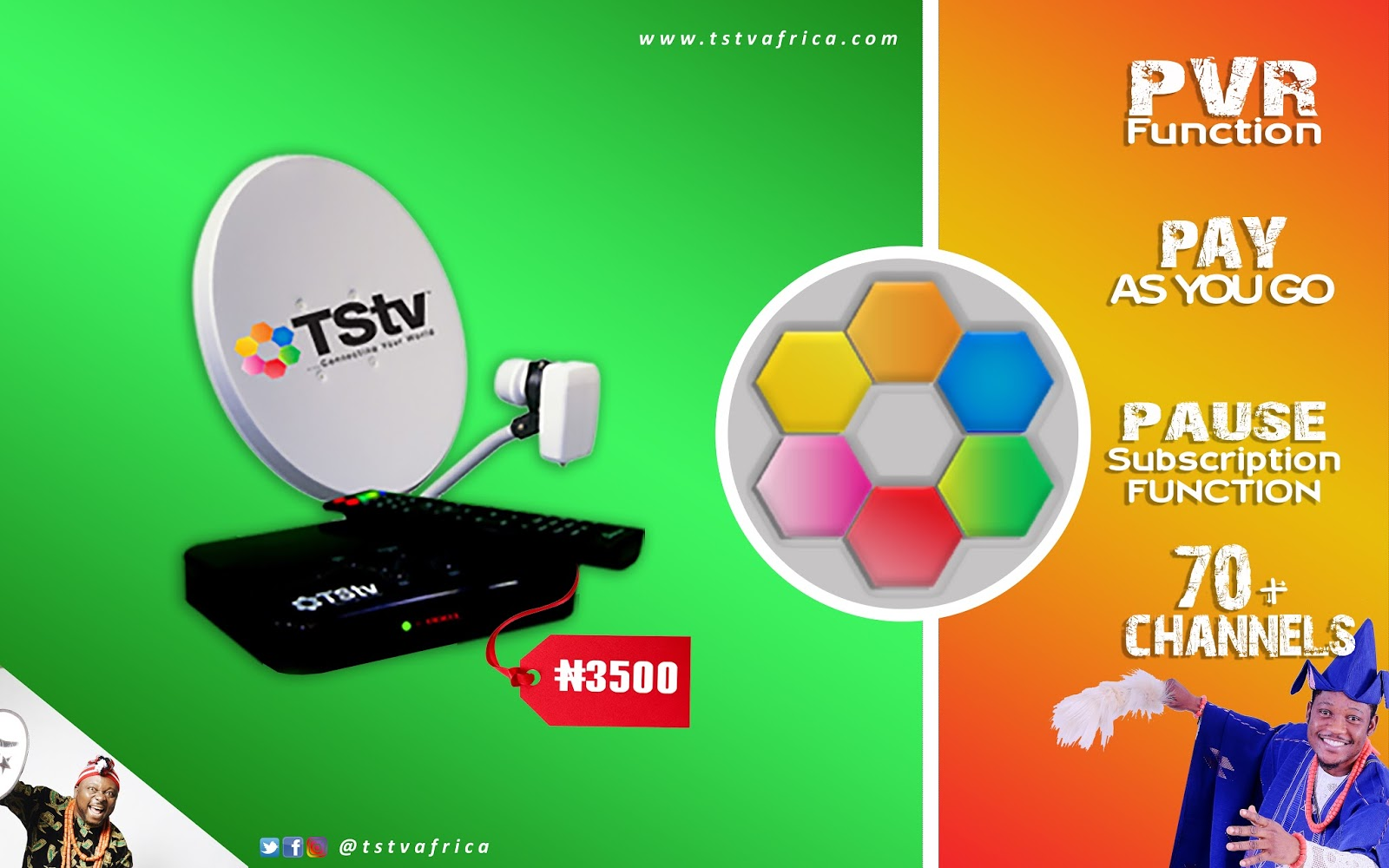 TSTV: Where To Buy TSTV Sassy Decoder In Oyo Nigeria