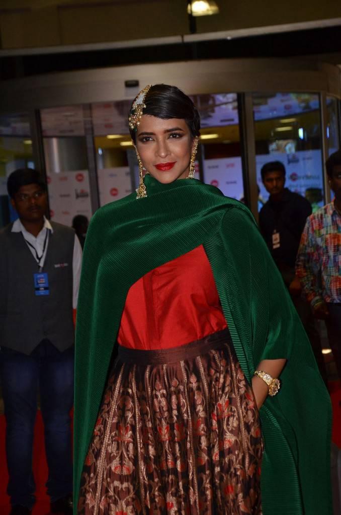 Manchu Lakshmi At 64th JIO Filmfare Awards 2017 Stills