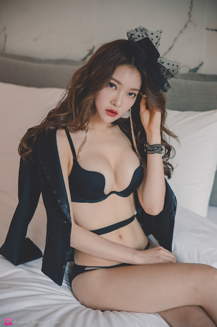 Park Jung Yoon - Lingerie Set - very cute asian girl - girlcute4u.blogspot.com (2)