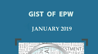 Gist of EPW January 2019 for UPSC by iasparliament - Download PDF