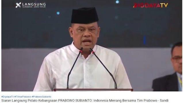 Gatot Nurmantyo Beberkan Anggaran TNI saat Ini: Saya Tidak Berdaya