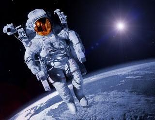 astronot lucu