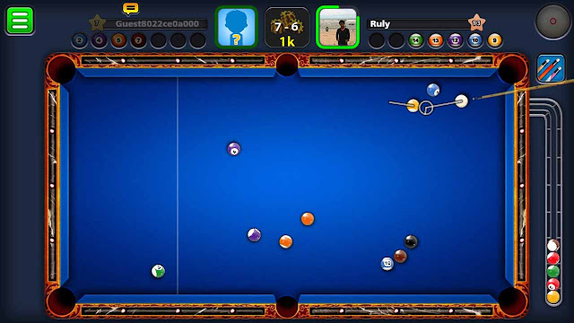 cheat 8 pool tanpa root