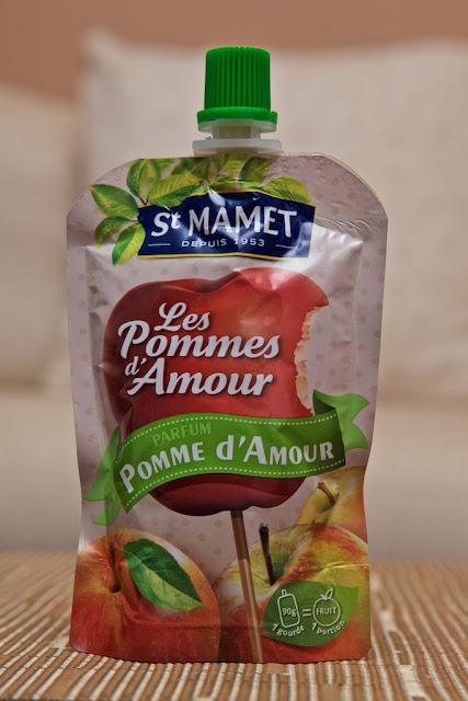 Compote parfum Pomme d'Amour St-Mamet - dessert - food - manger